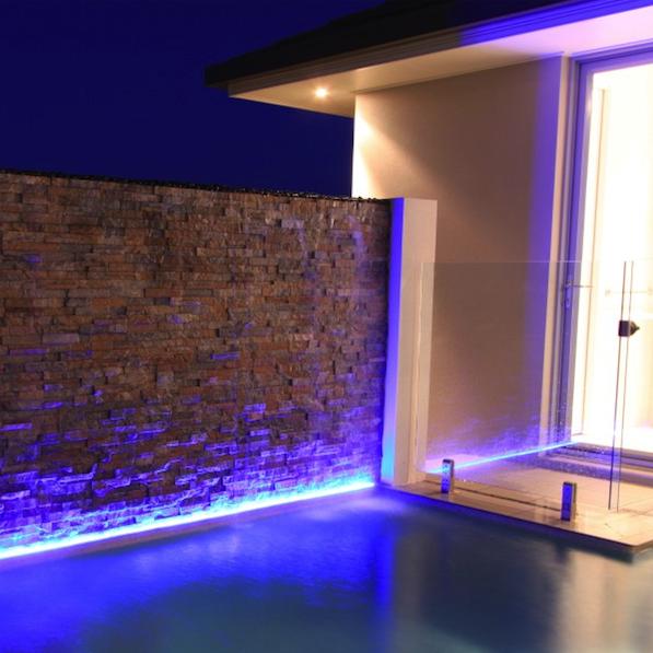 Tira de leds smd 5060 exterior iluminaci n led - Lamparas de exteriores de pared ...